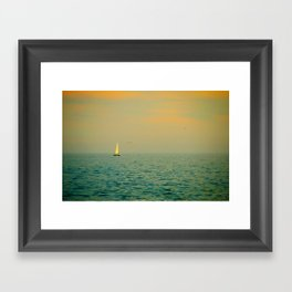Sailing on The Great Lakes Framed Art Print