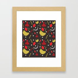 Yiga Clan Pattern Framed Art Print