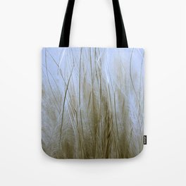 Feather Grass Tote Bag