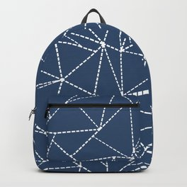 Ab Dotted Lines Navy Backpack