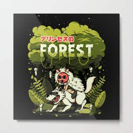 The Forest PrinceThe Forest Princessss Metal Print