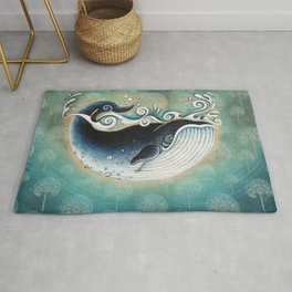 the Blue Whale Rug