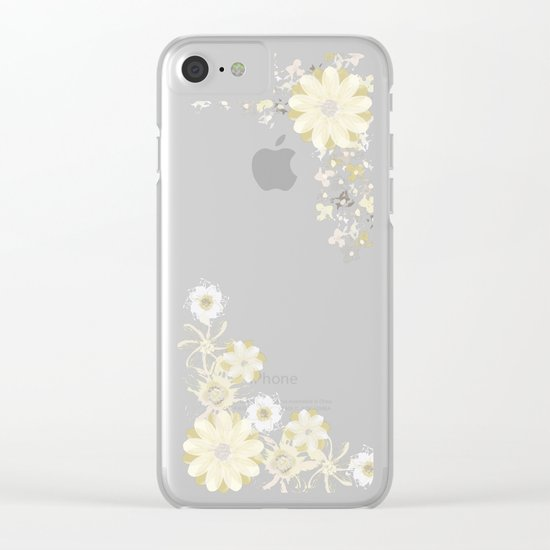 Fresh Beginnings Clear iPhone Case