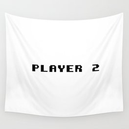 Player 2 Wall Tapestry