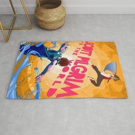 Scott Pilgrim VS The World Alternate Movie Poster Rug