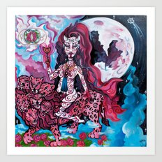 Babalon, the Great Mother Art Print