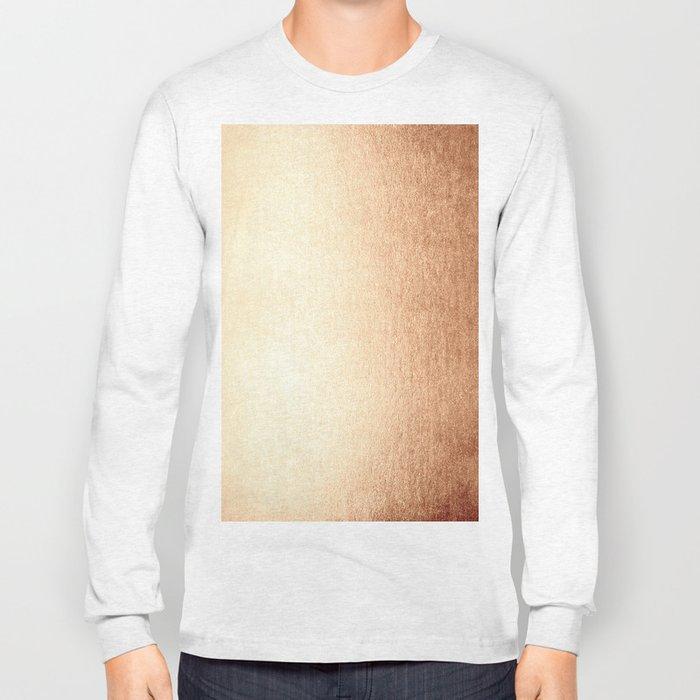 Simply Deep Bronze Amber Long Sleeve T-shirt
