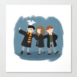 Friendship and magic Canvas Print