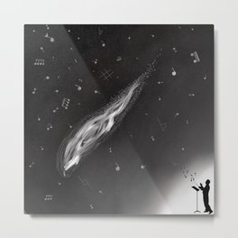 Song of the Stars Metal Print