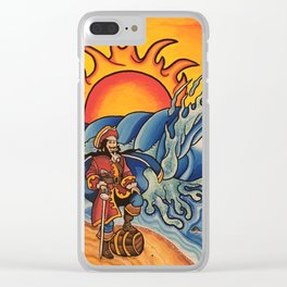 Rum Runners Clear iPhone Case
