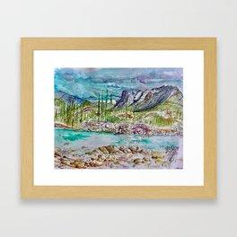 Wabasso Framed Art Print