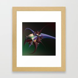 Fractal Insectoid Framed Art Print