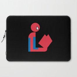 Gentleman Spider Reads Laptop Sleeve