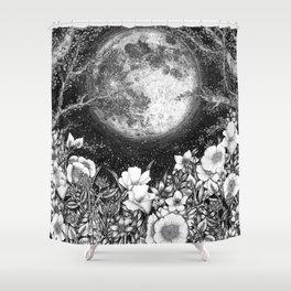 Midnight in the Garden Shower Curtain