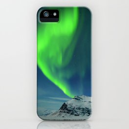 Northern Lights at Twilight iPhone Case