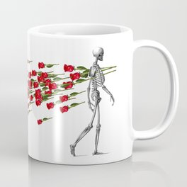 Skeleton&Roses Coffee Mug