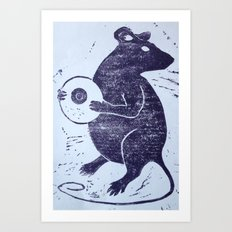 The Rat Art Print