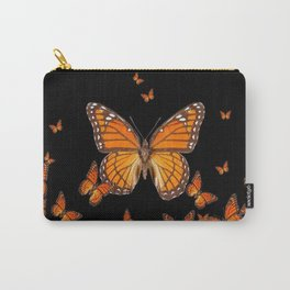 WORLD OF MONARCH BUTTERFLIES Carry-All Pouch