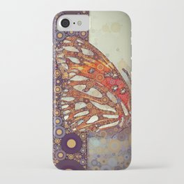 Golden Butterfly iPhone Case