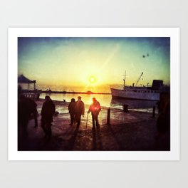Hafen Art Print