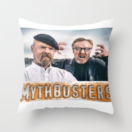 Mythbusters Throw Pillow