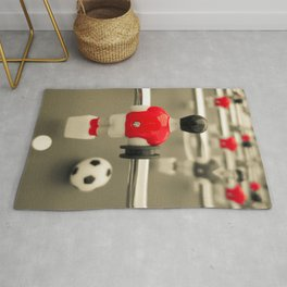 Table Football 01A - Defender | Red Rug