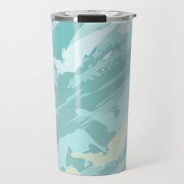 Camouflage Pattern Travel Mug