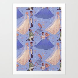 Dilly Dilly, You Shall Be Queen Art Print