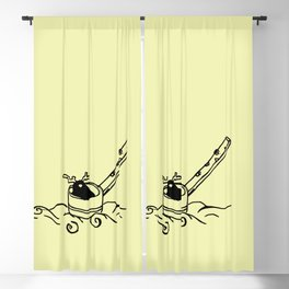 I am dipper - Patrinia Blackout Curtain