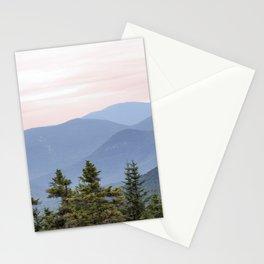 Hazy Mountains Stationery Cards