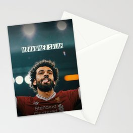 Mohammed Salah Stationery Cards