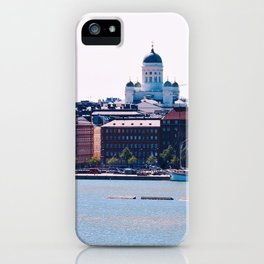 Helsinki Cathedral by Giada Ciotola iPhone Case