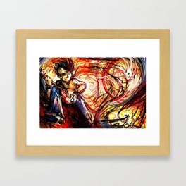 Conjurer Framed Art Print