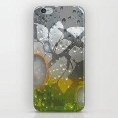 Ginkos in the Rain iPhone Skin