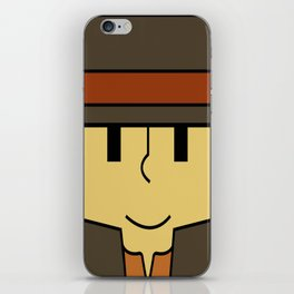 Minimal Layton iPhone Skin