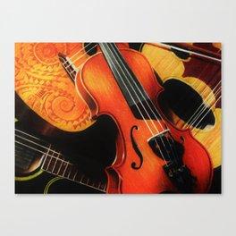 Stringed Canvas Print