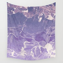 Ultraviolet Marble Wall Tapestry
