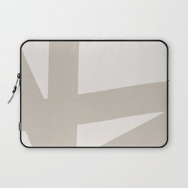Neutral Abstract 3A Laptop Sleeve