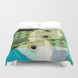 Fish Boxed Duvet Cover