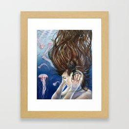 Deep Sounds Framed Art Print