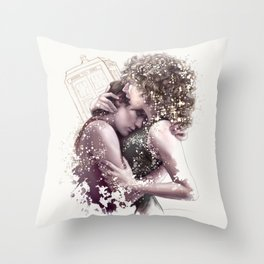 Among The Stars Throw Pillow