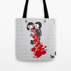 Lady & Lord Valentine's Tote Bag