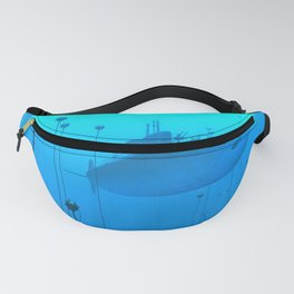 Abyss POV Ray Tracing Fanny Pack