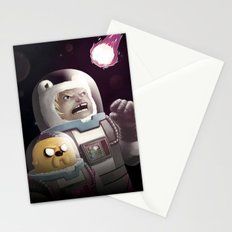 The Comet - Time for adventure in space Stationery Cards