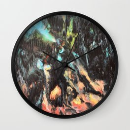 The darkness 2 Wall Clock