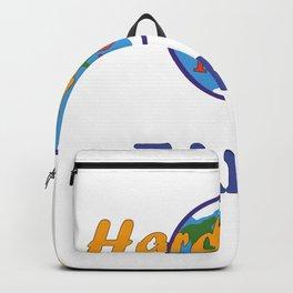 Hard body loves Earth Backpack