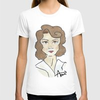 peggy carter T-shirts featuring Peggy Carter by Ash AROUH