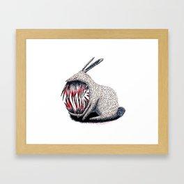 Murderous Rabbit Framed Art Print