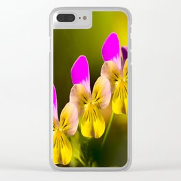 Colorful violets  - beauties of nature - #Society6 - #Buyart Clear iPhone Case