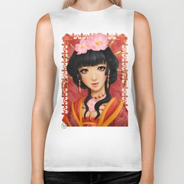 Chinese thought - Pensée chinoise Biker Tank